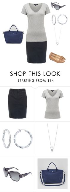 """Ootd 15 February 2015"" by bloomfly ❤ liked on Polyvore featuring French Connection, Paloma Picasso, Longchamp, women's clothing, women, female, woman, misses and juniors"