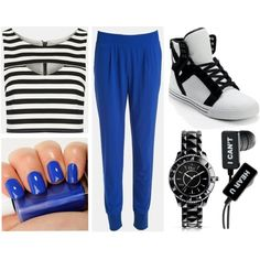 Something Blue by timeandcouture on Polyvore