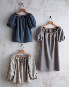 Make It: easy shirt and/or dress | The Craft Dept.