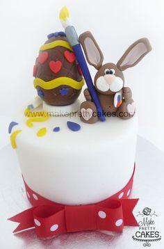 Painting Bunny Cake