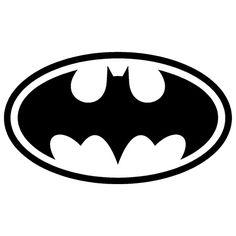 Batman logo Die Cut Vinyl Decal PV172