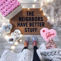 WEBSTA @liketoknow.it Twinkle lights and all the Galentine's Day inspo, we're loving @thehouseofsequins' girly glam front porch setup | Follow her in the LIKEtoKNOW.it app to never miss a ready-to-shop