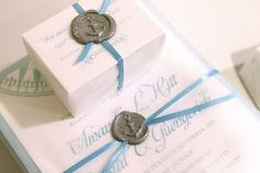 ribbon + wax anchor seal packaging