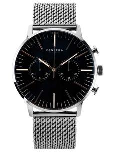 Panzera Terros Mesh LTD Watch chrome Popular Mens Fashion, Fathers Day Gifts, Watches For Men, Men's Watches, Omega Watch, Chrome, Mesh, Cool Stuff, Accessories