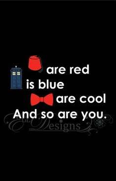 Dr Who Valentines Cards by eglDesigns on Etsy, $3.75