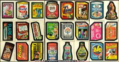 I loved these wacky packages stickers! I used to have so many. I wouldn't mind getting some again.