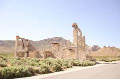 Rhyolite Ghost Town | Nevada