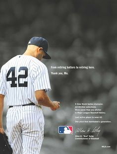 MLB honors Mariano Rivera. As they should. A mans man. You think those other morons ( not mentioning any names) would have learned something hanging out with him all those years.DP