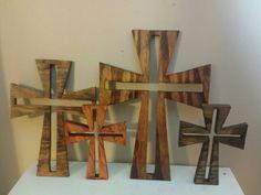 Scroll saw crosses
