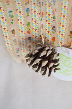Envoltorio de regalo handmade Handmade autumn packaging