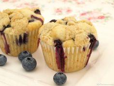 Muffins de arándanos - MisThermorecetas
