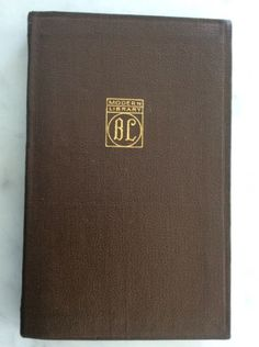 Poems-by-Oscar-Wilde-Modern-Library-ML-early-brown-flex-binding-1917