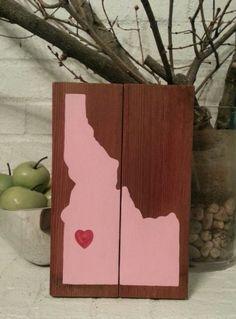'Idahome' - reclaimed wood artwork