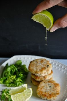 AIP & Paleo Lime, Cilantro, and Lemongrass Fish Cakes!