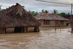 Floods sparked by torrential rain have wreaked havoc and destruction on islands stretching from Flores in Indonesia to East Timor, sending thousands fleeing into shelters.