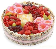 Peace And Love, Acai Bowl, Raspberry, Cake Decorating, Berries, Happy Birthday, Sweets, Fruit, Eat