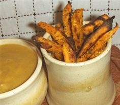Nothing like Sweet Potato Oven Fries with Miso Gravy! Three variations on the fries so you can suit your mood. #vegan #dairyfree #recipe