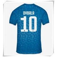 Camisa de Futebol Juventus Paulo Dybala #10 Equipamento Alternativo 2019-20 Manga Curta Camisa Juventus, Eden Hazard, Football Shirts, Real Madrid, Liverpool, Shorts, Tops, Shirts, Sleeve