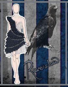 House Couture - Ravenclaw by DistantDream.deviantart.com on @deviantART