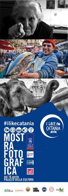 16/04 inaugurazione della mostra I Like Catania - Officine Culturali #ilikecatania