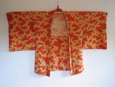 Vintage Kimono Jacket Haori Ichou by McKimono