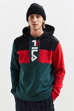 Hoodies + Sweatshirts for Men FILA Ollie Hoodie Sweatshirt Hoodie Sweatshirts, Hoody, Men's Hoodies, Sweatshirt Outfit, Graphic Sweatshirt, Graphic Tees, Sweat Shirt, Camisa Polo, Latest Mens Fashion