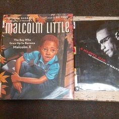 My kiddo ended up getting Malcolm Little: The Boy Who Grew Up to Become Malcom X by Ilyasahy Shabazz illustrated by AG Ford and A Marked Man: The Assassination of Malcolm X.  #MalcolmX  #ElHajjMalikElShabazz
