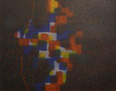 Erina Kawachi(Japan)  Sentimento 17.5×25 cm (9.8×11.9 cm print) Aquatint with 3 plates