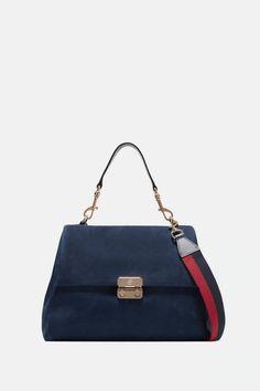 Bolsos al hombro Prada Mujer | Bolso al hombro Galleria de piel Saffiano tamaño pequeño Azul ⋆ Tutos Gratis