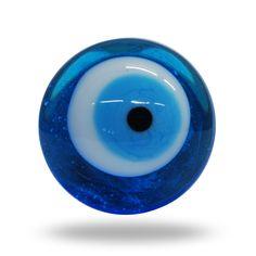 Magic Eye Glass Mushroom Knob