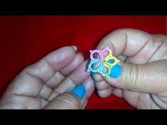 29-Shuttle tatting for beginners#Lesson-4,How to make basic flower(Hindi/Urdu) - YouTube