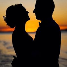 Beautiful silhouette sunset photo by @alltheloveintheworld To have your engagement/proposal photos featured tag us.  http://www.themarriageproposal.com #art #photoshoot #photography #photographer #photooftheday #photographs #proposal #engaged #engagement #engagementring #engagementphotos #love #ring #queensland #sunset #instagood #instagram #instadaily #followme