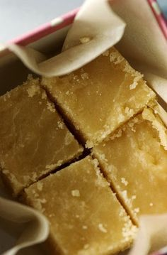 Ingredients: 3/4 cup butter 3 cups packed light brown sugar 1 can (5-oz) evaporated milk 1 tsp vanilla extract 1 lb p...