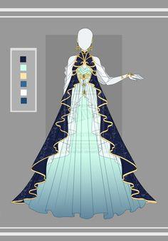 Adoptable outfit 13(closed) by LaminaNati.deviantart.com on @DeviantArt