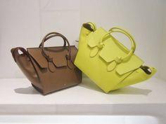 Tie bag by @Celiné #Celiné #TieBag #bag #leather #FolliFollie #FW14collection