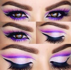 Image about love in Make up by Kalina on We Heart It Cat Makeup, Love Makeup, Makeup Art, Makeup Tips, Beauty Makeup, Makeup Looks, Stunning Makeup, Gorgeous Eyes, Makeup Ideas