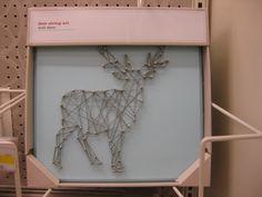String Art Idea.  Seen at Target Fall 2014.