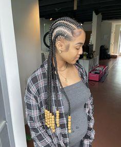 Black Girl Braided Hairstyles, Black Girl Braids, Braids For Black Hair, Natural Hair Braids, Baddie Hairstyles, Weave Hairstyles, Girls Braids, Hairdos, Pretty Hairstyles