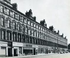 Eglinton Street terrace by Greek Thomson - demolished by Glasgow Council. Now a waste ground.
