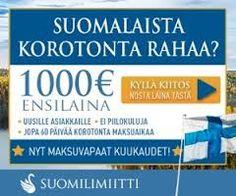 Rahaa,Hintaa,nappulaa,fyrkkaa 2016!: Suomilimiitti 2016 Kuluton ensinosto 100€-1000€!