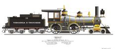 Virginia & Truckee, Locomotive #11, Reno