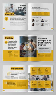 Corporate Square Brochure Template. 20 Pages Corporate Office Design, Corporate Brochure Design, Creative Brochure, Business Brochure, Booklet Template, Logo Template, Booklet Design, Brochure Template, Design Templates