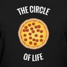 Pizza Circle of Life - Math - Pizza Puns, Pizza Meme, Pizza Sign, Pizza Art, Pizza Pizza, Funny Pizza Quotes, Pizza Slogans, Pizza Humor, Pizza Store