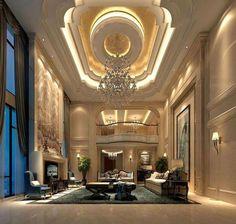 Luxury House Interior Design Tips And Inspiration Palace Interior, Mansion Interior, Luxury Homes Interior, Luxury Home Decor, Home Interior Design, False Ceiling Design, Elegant Home Decor, Window Design, Classic House
