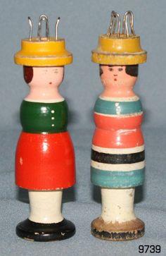 2 alte DDR Strickliesl STRICKSUSE Strickliesel Stricksusl Handarbeits Spielzeug | eBay