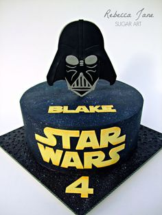 Star Wars Darth Vader Cake