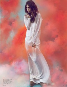 Black Magazine Issue 16 - One part ethereal, one part intergalactic, the Black Magazine Issue 16 editorial is completely captivating. From colorful cloudy backdrops to simpl...