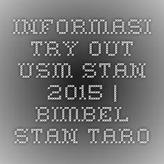 Informasi Try Out USM STAN 2015   BIMBEL STAN TARO. let's join !