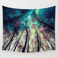 NORDIC+LIGHTS+Wall+Tapestry+by+RIZA+PEKER+-+$39.00