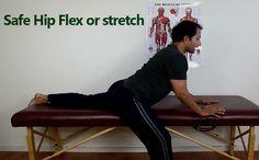 Effective Hip Flexor Stretch: Safe Hip Flexor And Front Hip Stretch